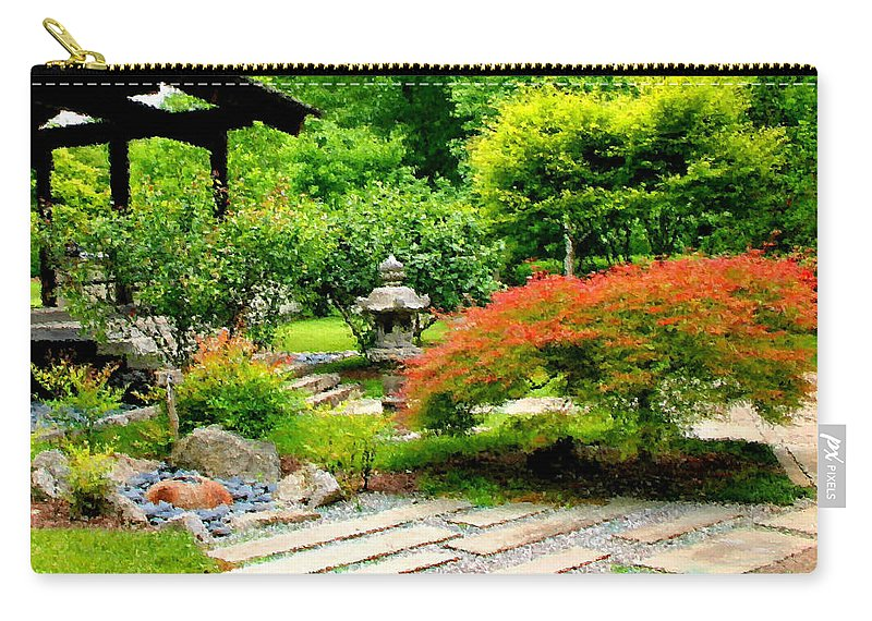 Oriental Carry-all Pouch featuring the photograph Oriental Scenic by Kristin Elmquist
