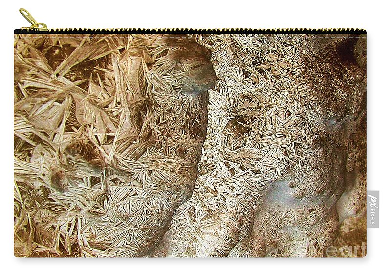 Oriented Strands Carry-all Pouch featuring the photograph Oriented Strands by Ron Bissett