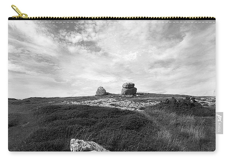 Great Orme Carry-all Pouch featuring the photograph Orme Rocks by Bob Kemp