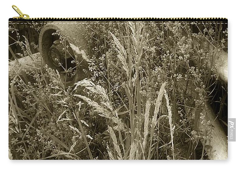 Abandoned Carry-all Pouch featuring the photograph Ornament For A Wild Garden by RC DeWinter