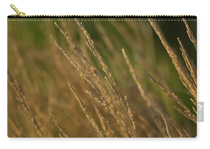 ornamental Grass Carry-all Pouch featuring the photograph Ornamental Naturally by Paul Mangold