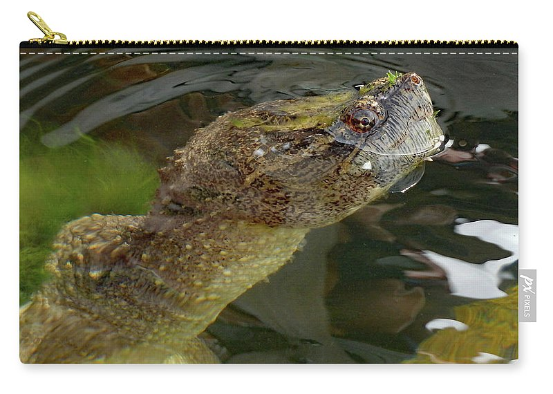 Oscar Carry-all Pouch featuring the photograph Oscar by James Peterson