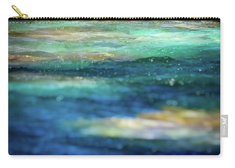 Osprey Reef Carry-all Pouch featuring the photograph Osprey Reef by Doug Sturgess
