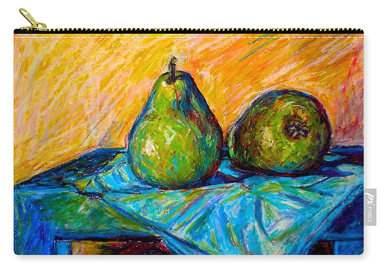 Still Life Carry-all Pouch featuring the painting Other Pears by Kendall Kessler