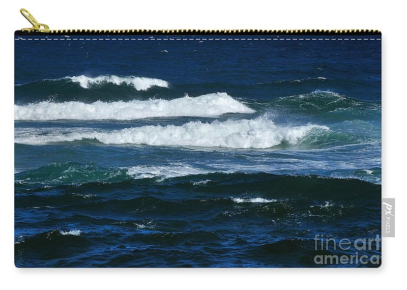 Photography Carry-all Pouch featuring the photograph Our Beautiful Ocean by Kaye Menner