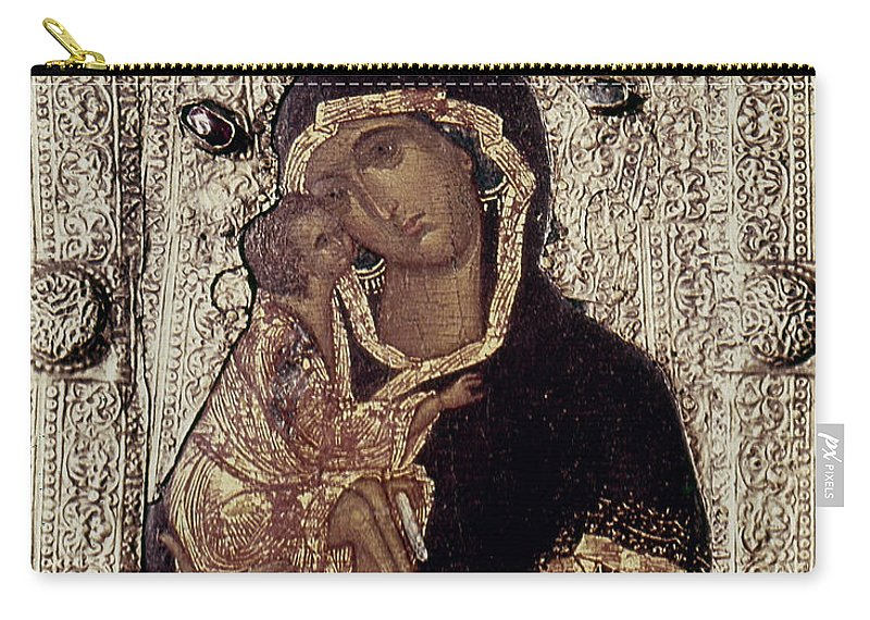 14th Century Carry-all Pouch featuring the photograph Our Lady Of Don by Granger
