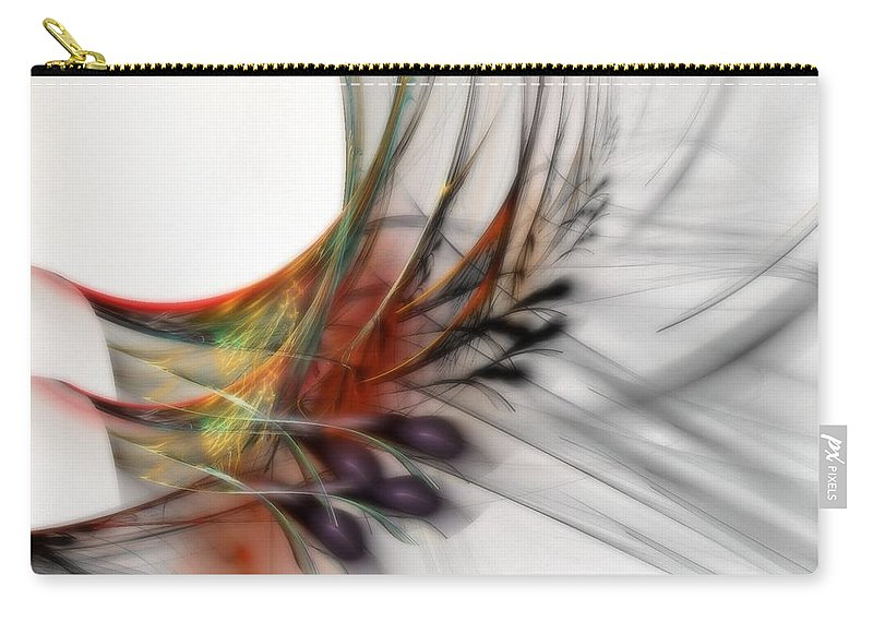 Abstract Carry-all Pouch featuring the digital art Our Many Paths by NirvanaBlues