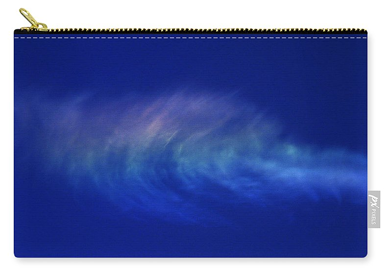 Cloud Carry-all Pouch featuring the photograph Out Of The Blue by Casper Cammeraat