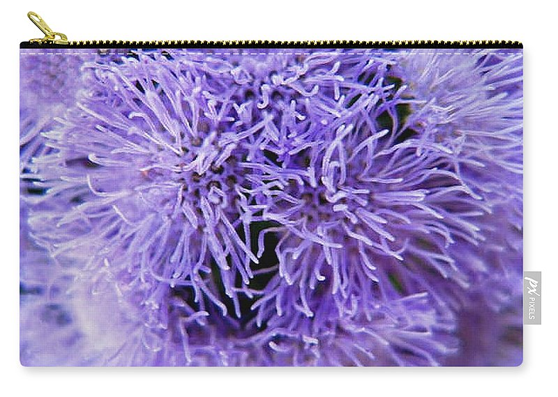 Floral Carry-all Pouch featuring the photograph Out of this World by Rhonda Barrett