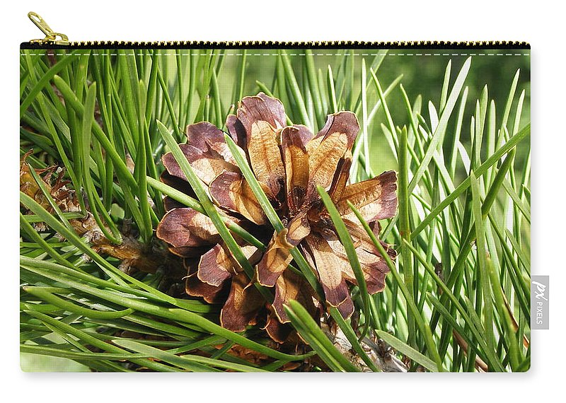 Tree Carry-all Pouch featuring the photograph Out On A Limb by DeeLon Merritt