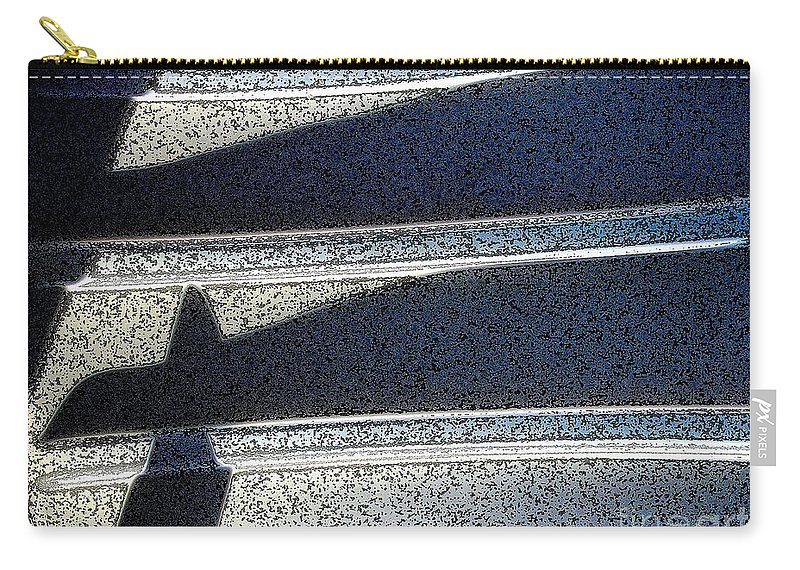 Digital Art Carry-all Pouch featuring the digital art Out Shadows by Ron Bissett