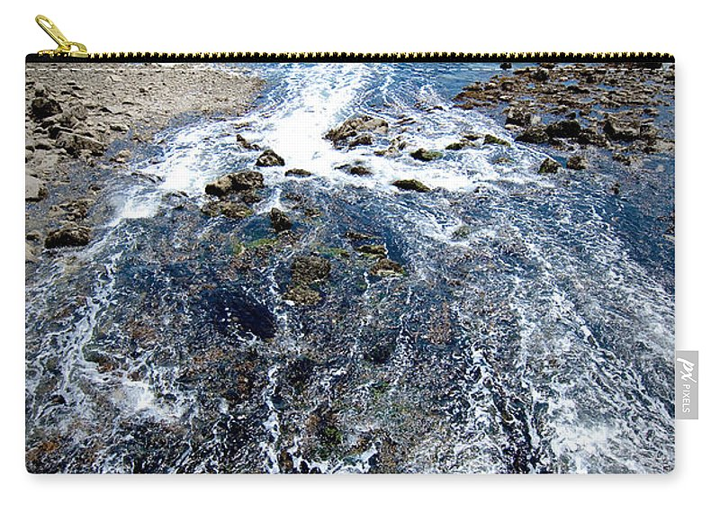 Ocean Carry-all Pouch featuring the photograph Out To Sea by Greg Fortier