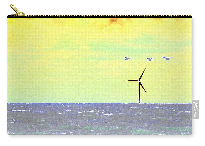 Sea Carry-all Pouch featuring the photograph Out To Sea by Susan Baker