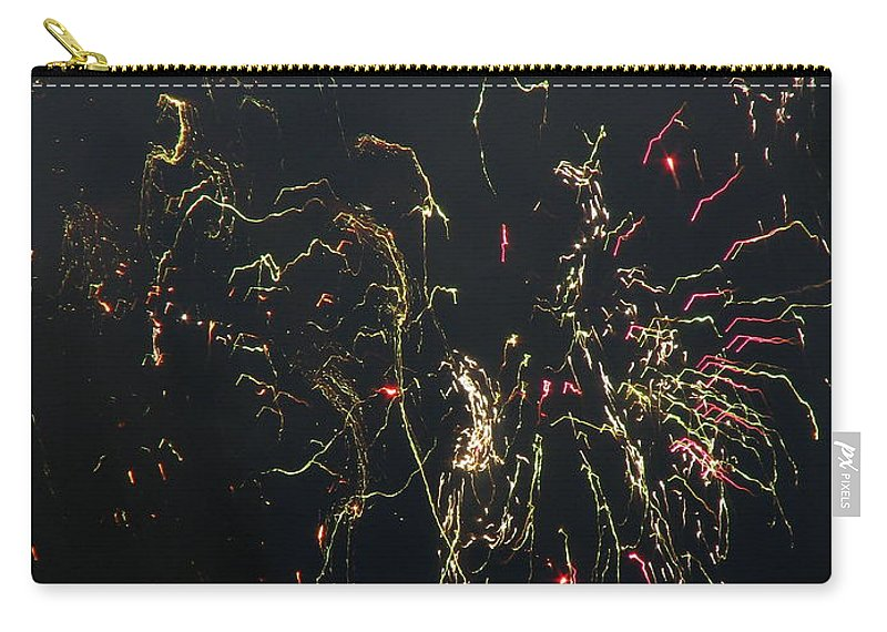 Patzer Carry-all Pouch featuring the photograph Over Fort Lee by Greg Patzer