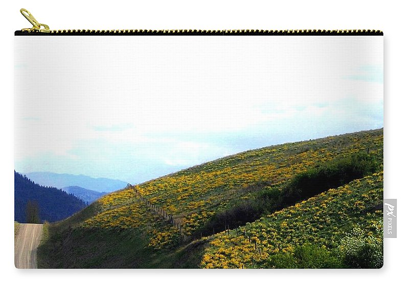 Hills Carry-all Pouch featuring the photograph Over Hill And Dale by Will Borden