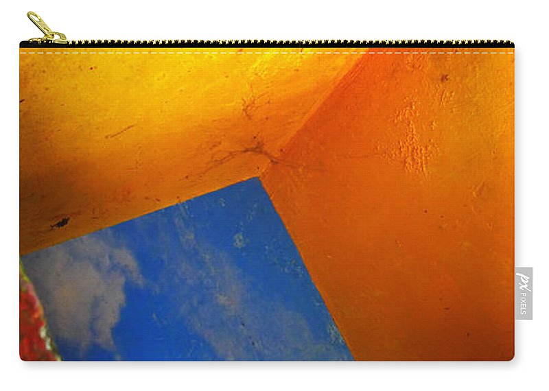 Skip Hunt Carry-all Pouch featuring the photograph Over The Rainbow by Skip Hunt