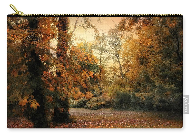 Autumn Carry-all Pouch featuring the photograph Overcast by Jessica Jenney
