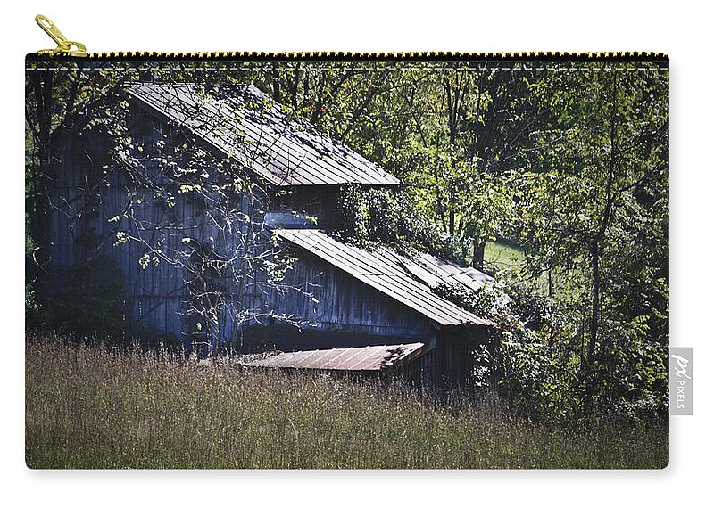 Virginia Carry-all Pouch featuring the photograph Overgrown by Teresa Mucha