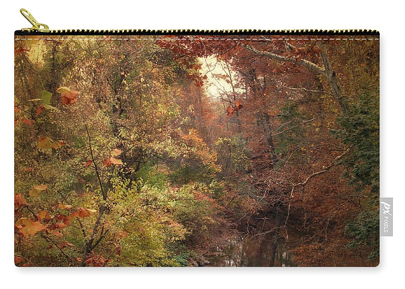 Autumn Carry-all Pouch featuring the photograph Overlook by Jessica Jenney