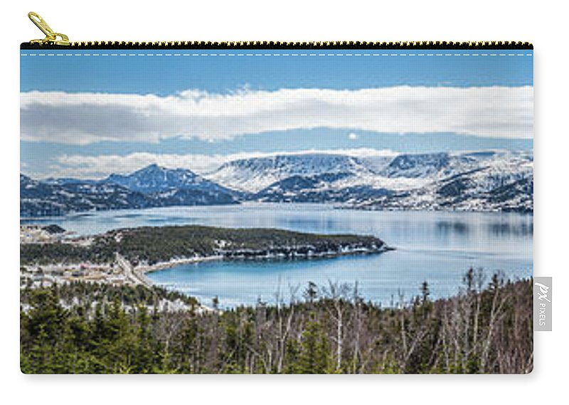 Norris Point Carry-all Pouch featuring the photograph Overlooking Norris Point, Nl by Mike Organ