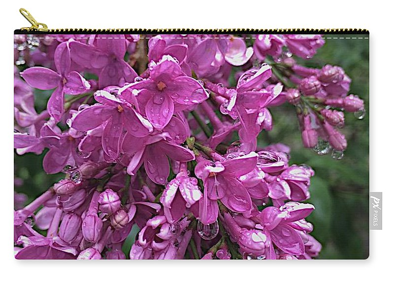 Blooms Carry-all Pouch featuring the photograph Overwhelmed by Joseph Yarbrough