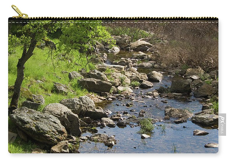 Oak Carry-all Pouch featuring the photograph Owl Creek by Jim And Emily Bush