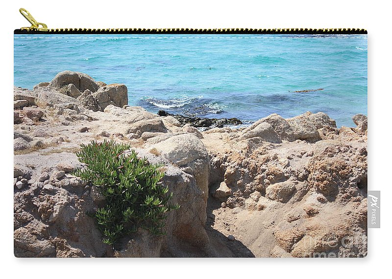 California Carry-all Pouch featuring the photograph Pacific Blue by Carol Groenen