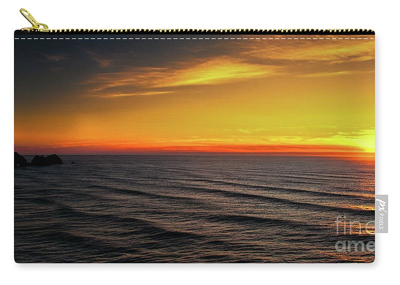 Jon Burch Carry-all Pouch featuring the photograph Pacific Sunset by Jon Burch Photography
