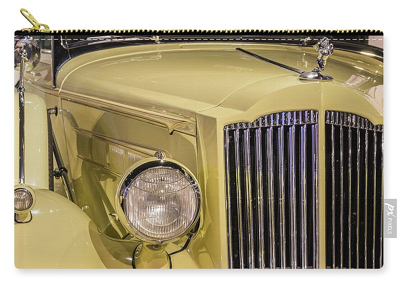 National Packard Museum Carry-all Pouch featuring the photograph Packard Class by Stewart Helberg
