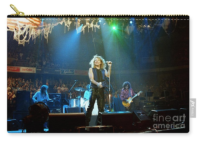 Robert Plant Carry-all Pouch featuring the photograph Page N Plant-0016 by Timothy Bischoff
