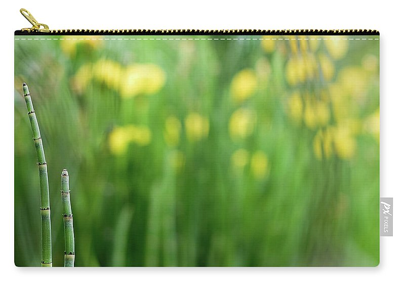 Flower Carry-all Pouch featuring the photograph Pagoda Garden by MotionOne Studios