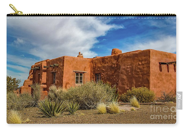 Jon Burch Carry-all Pouch featuring the photograph Painted Desert Inn by Jon Burch Photography