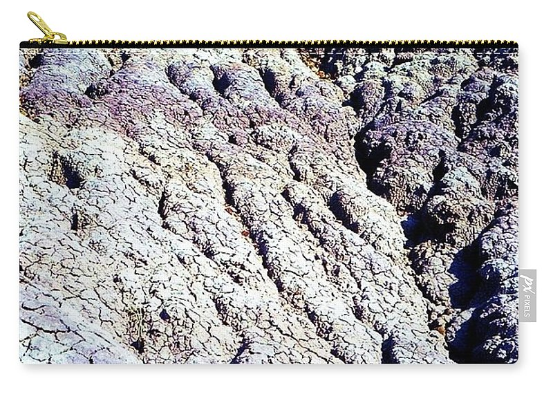 Painted Desert Carry-all Pouch featuring the photograph Painted Desert by Ron Bissett