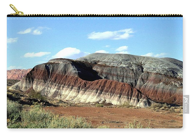 Arizona Carry-all Pouch featuring the photograph Painted Desert by Will Borden