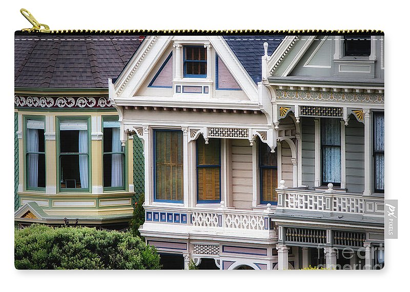 Sfo Carry-all Pouch featuring the photograph Painted Ladies by Doug Sturgess