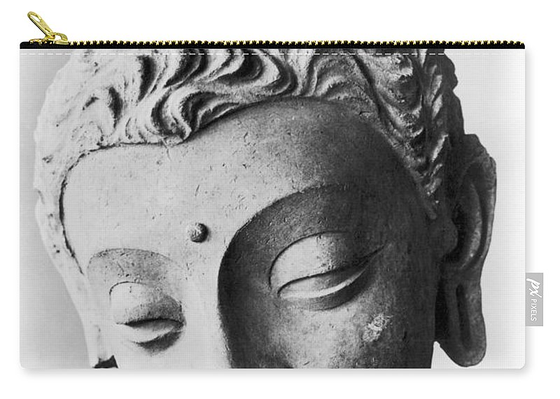 4th Century Carry-all Pouch featuring the photograph Pakistan: Buddha by Granger