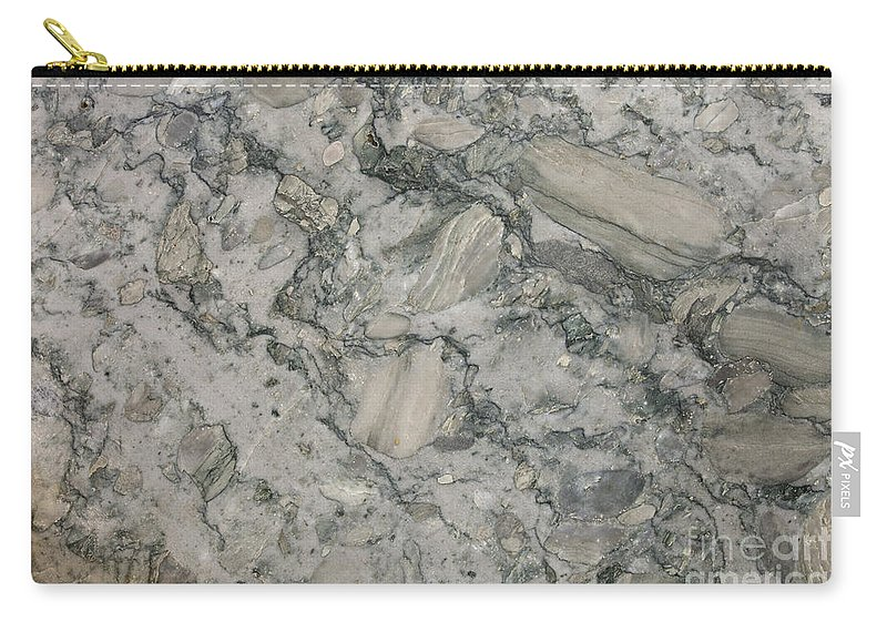 Granite Carry-all Pouch featuring the photograph Palazzo Granite by Anthony Totah