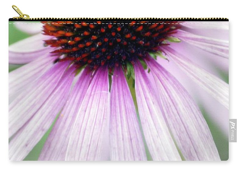 Flowers Carry-all Pouch featuring the photograph Pale Grey by Marty Koch