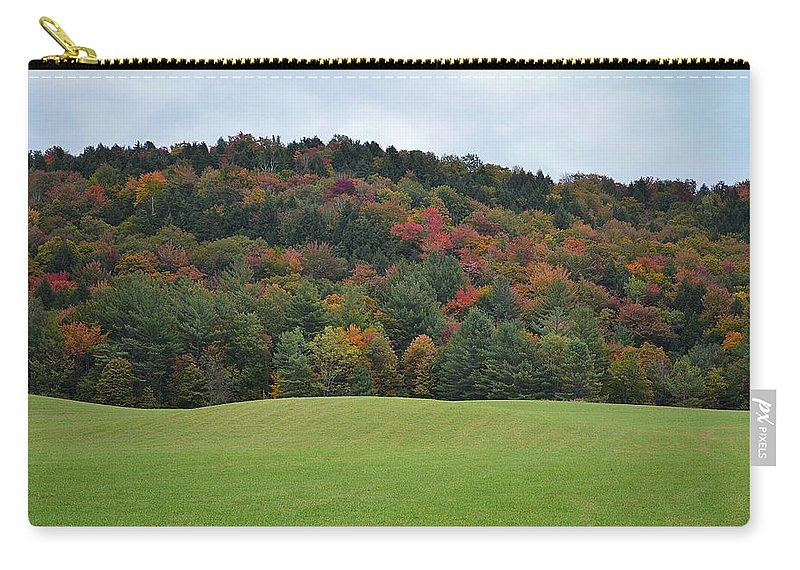 Fall Foliage Carry-all Pouch featuring the photograph Autumn Palette by Carolyn Mickulas
