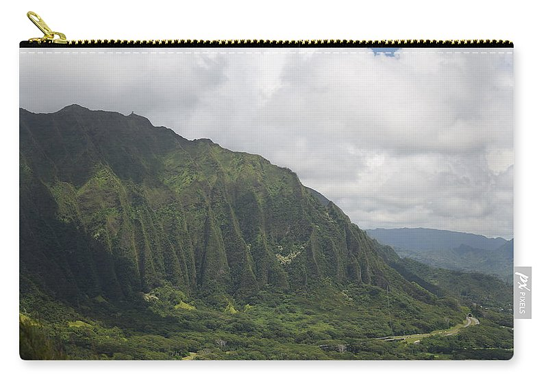 Pali Carry-all Pouch featuring the photograph Pali by Samantha Peel