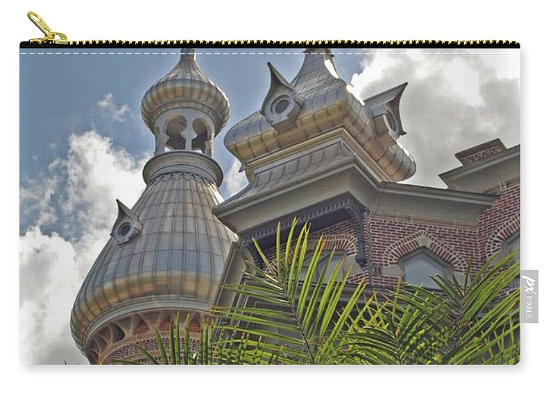 University Of Tampa Carry-all Pouch featuring the photograph Palm Of The Dome by Jost Houk