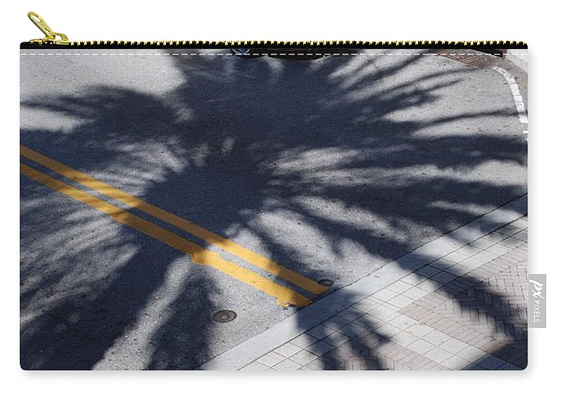 Porsche Carry-all Pouch featuring the photograph Palm Porsche by Rob Hans