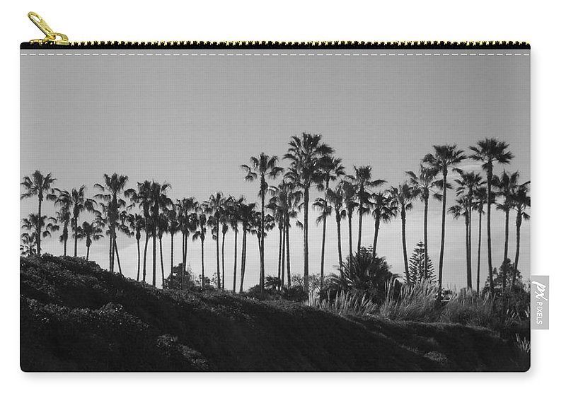 Landscapes Carry-all Pouch featuring the photograph Palms by Shari Chavira