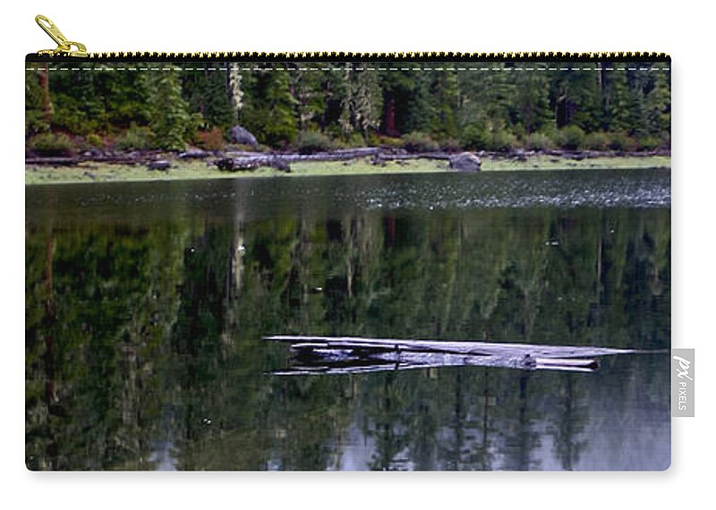Pamelia Lake Carry-all Pouch featuring the photograph Pamelia Lake Reflection by Albert Seger