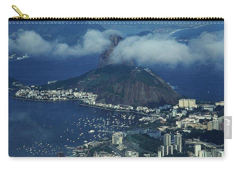 South America Carry-all Pouch featuring the photograph Pan De Azucar - Rio De Janeiro by Juergen Weiss