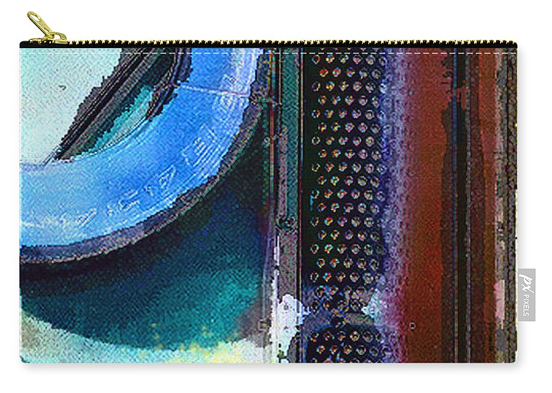 Abstract Carry-all Pouch featuring the photograph panel one from Centrifuge by Steve Karol