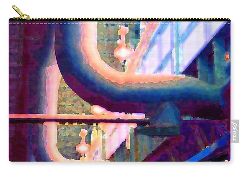 Abstract Carry-all Pouch featuring the photograph panel one from Star Factory by Steve Karol