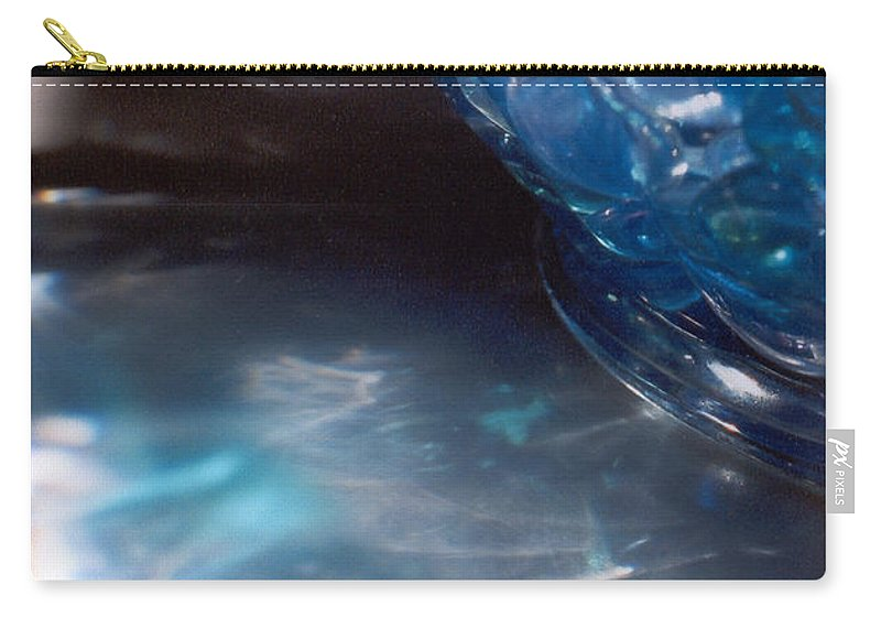 Abstract Carry-all Pouch featuring the photograph Panel One From Swirl by Steve Karol