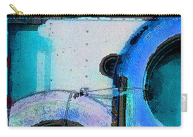 Abstract Carry-all Pouch featuring the photograph panel three from Centrifuge by Steve Karol