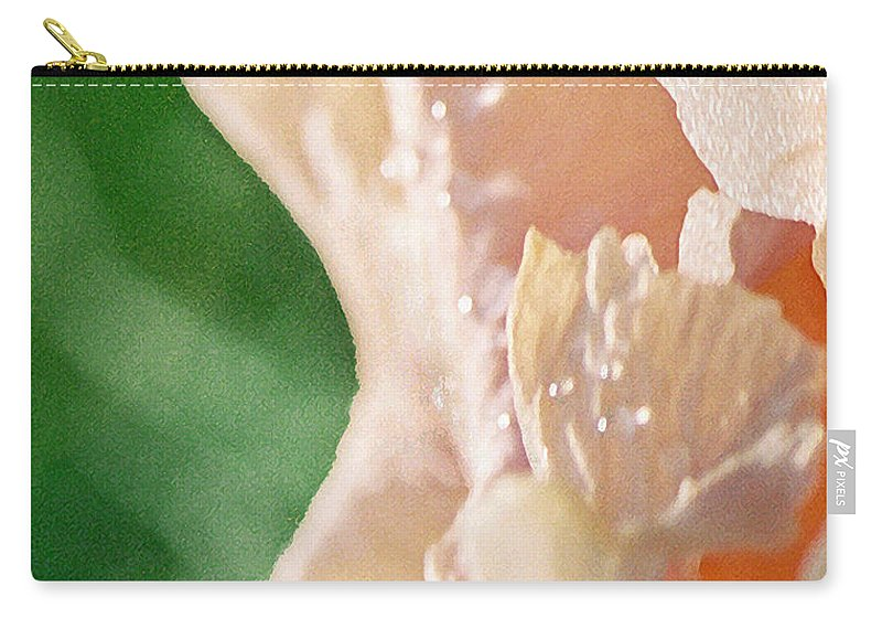 Abstract Carry-all Pouch featuring the photograph panel two from Iris by Steve Karol